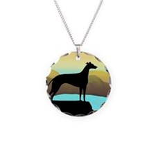 Unique Dog breed Necklace Circle Charm