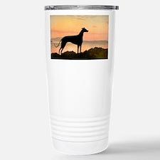 Greyhound Sunset Travel Mug