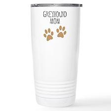 Greyhound Mom Travel Mug