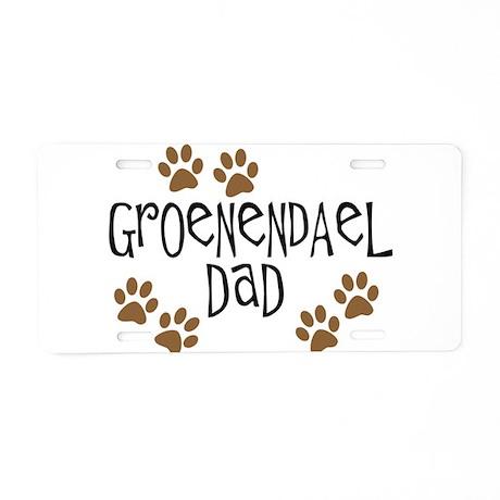 Groenendael Dad Aluminum License Plate