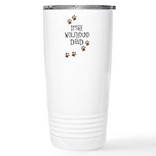 Irish Wolfhound Dad Travel Coffee Mug