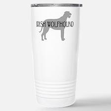 Irish Wolfhound w/ Text #3 Travel Mug