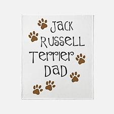 Jack Russell Terrier Dad Throw Blanket