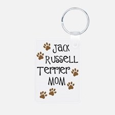 Jack Russell Terrier Mom Keychains