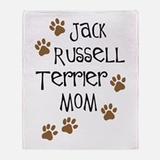 Jack Russell Terrier Mom Throw Blanket