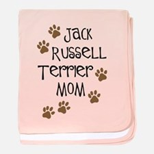 Jack Russell Terrier Mom baby blanket
