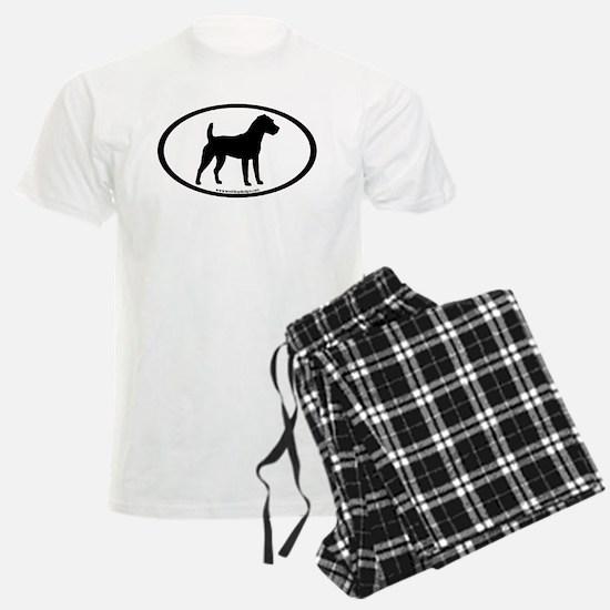 Jack Russell Oval pajamas
