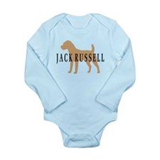Jack Russell Terrier Long Sleeve Infant Bodysuit