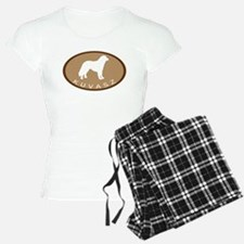 Kuvasz (brown oval) Pajamas