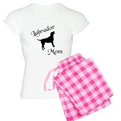 Labrador Mom w/ Silhouette Pajamas
