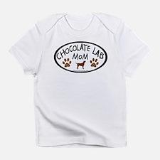 Chocolate Lab Mom Infant T-Shirt