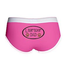 Labrador Dad Oval Women's Boy Brief