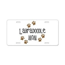 Labradoodle Mom Aluminum License Plate