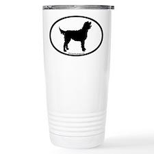 Labradoodle Oval Travel Mug