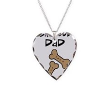 Biscuits Labradoodle Dad Necklace