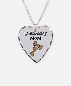 Biscuits Labradoodle Mom Necklace