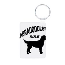 Labradoodles Rule Keychains