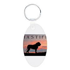 Mastiff Sunset Keychains
