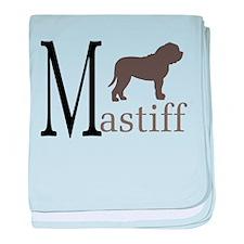 Mastiff baby blanket