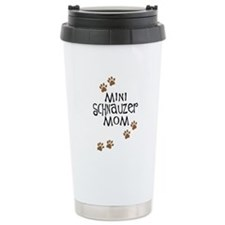 Mini Schnauzer Mom Travel Coffee Mug