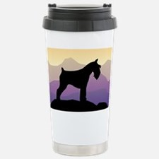 Purple Mt. Mini Schnauzer Travel Mug