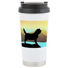 Petit Basset By The Sea Travel Mug