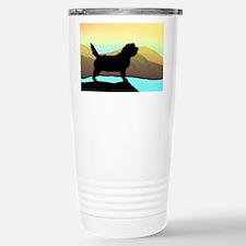 Petit Basset By The Sea Travel Mug