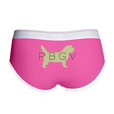 PBGV Dog Sage Women's Boy Brief