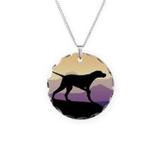 Purple Mountains Pointer Necklace