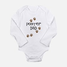 Pointer Dad Long Sleeve Infant Bodysuit