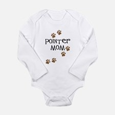 Pointer Mom Long Sleeve Infant Bodysuit