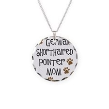 German Shorthaired Pointer Mo Necklace