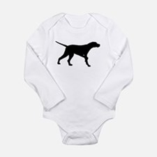 Pointer Dog On Point Baby Outfits