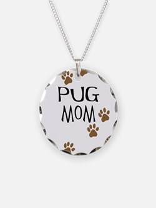 Pug Mom Necklace