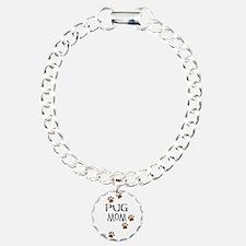 Pug Mom Bracelet