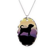 Purple Mountains Puggle Necklace