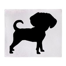 Cute Beagle design Throw Blanket