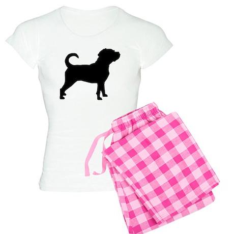 Puggle Dog Women's Light Pajamas