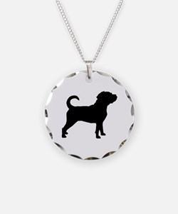 Puggle Dog Necklace