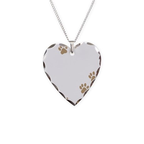 Mutt Mom Necklace Heart Charm