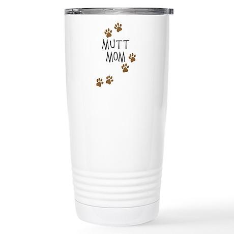 Mutt Mom Stainless Steel Travel Mug