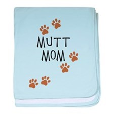 Mutt Mom baby blanket