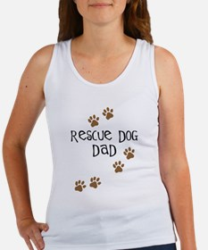 Rescue Dog Dad Women's Tank Top