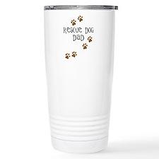 Rescue Dog Dad Travel Coffee Mug