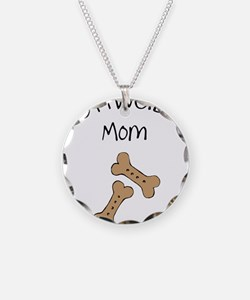 Biscuits Rottweiler Mom Necklace