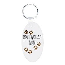 Rottweiler Mom Keychains