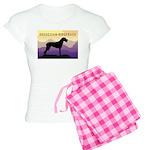 Ridgeback Dog Mountains Women's Light Pajamas