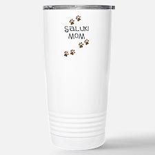 Saluki Mom Paw Prints Travel Mug