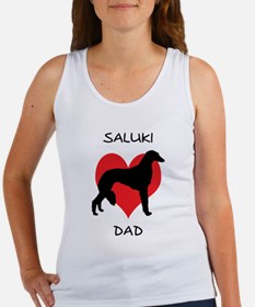 Saluki Dad Women's Tank Top
