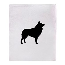 Schipperke Throw Blanket